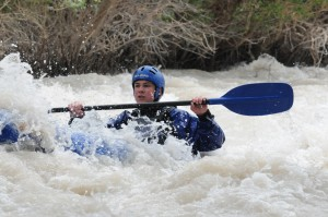 Inftable Kayaking On The Ourika River