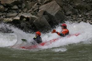 Tandem Kayaking on Ahansel River